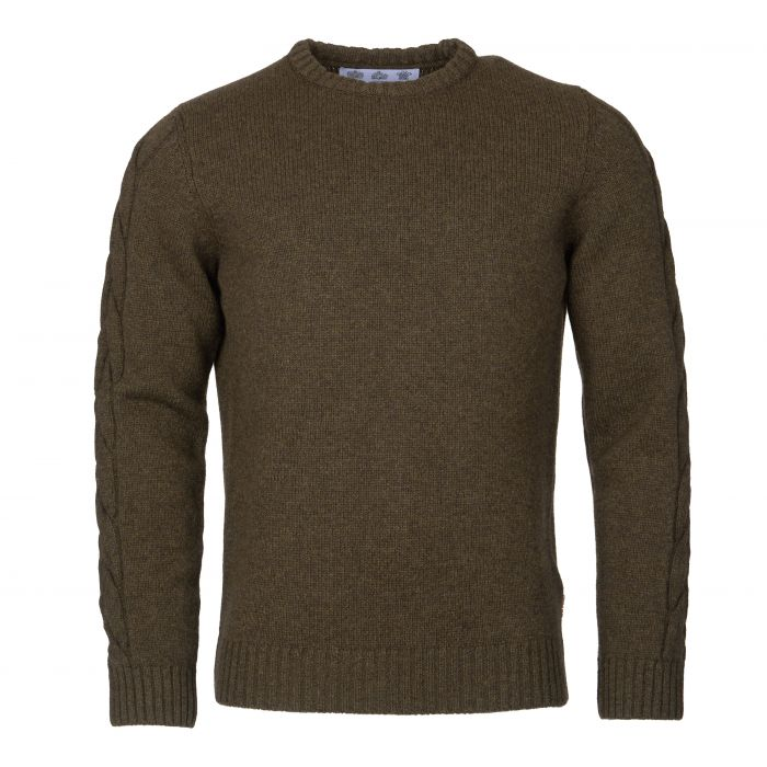 Barbour Winterfold Crew Neck Sweater