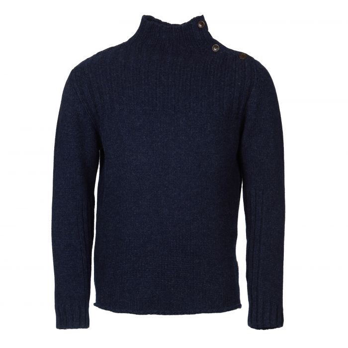 Barbour Thetford Button Neck Sweater