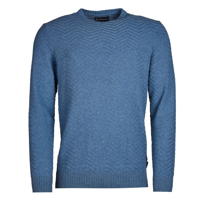 Barbour Herringbone Crew Neck Sweater