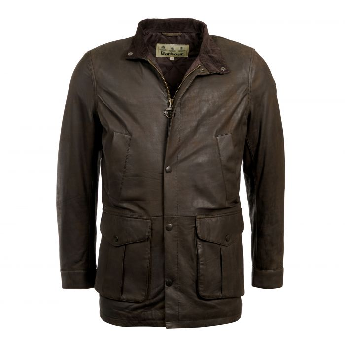 Barbour Thomas Leather Jacket