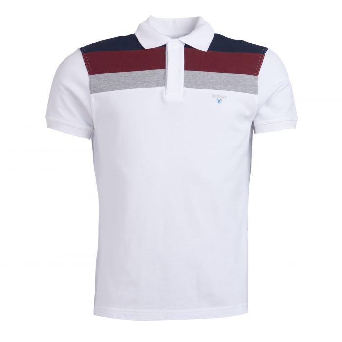 Barbour Shaldon Panel Polo Shirt