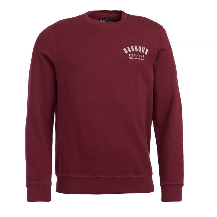 Barbour Preppy Crew Neck Sweatshirt
