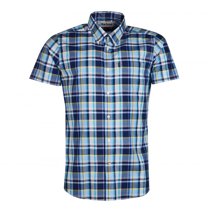 Barbour Madras 3 Tailored Fit Shirt