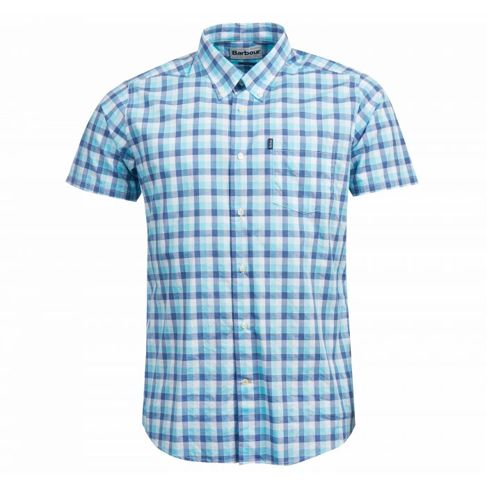 Barbour Barge Short Sleeved Tailored Fit Shirt