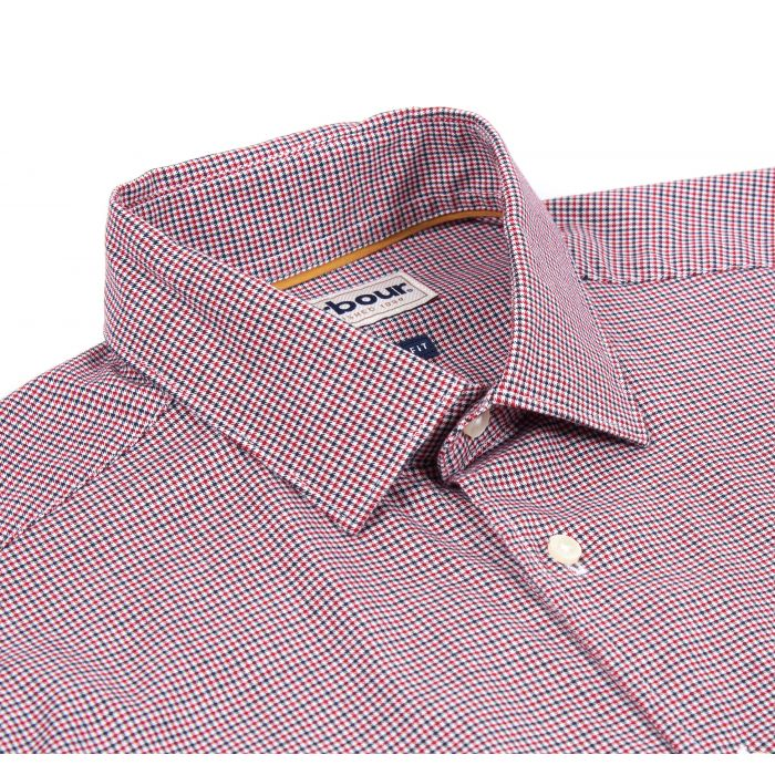 Barbour Highfield Micro Gingham Tailored Shirt