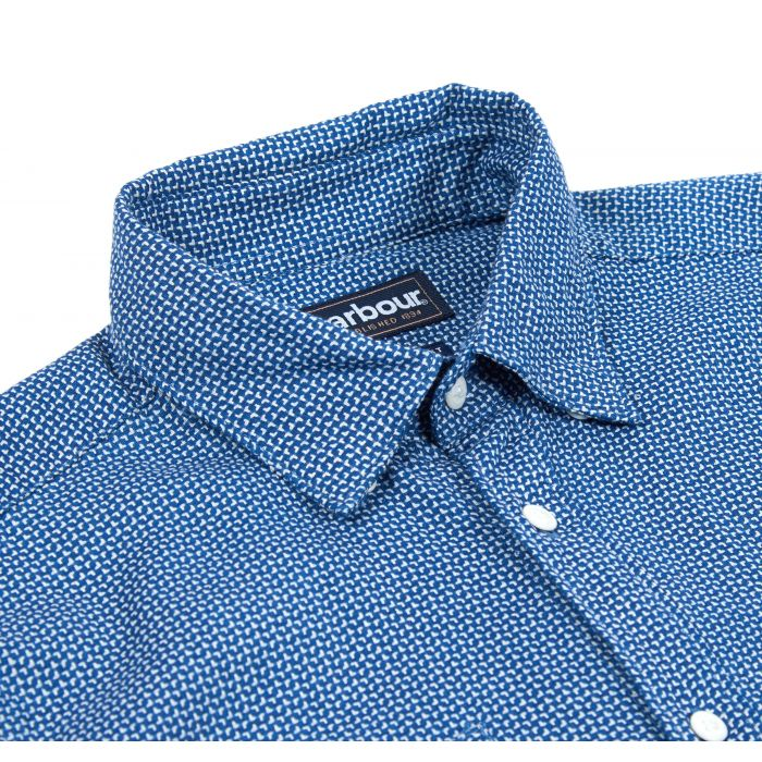 Barbour Somme Jacquard Tailored Shirt
