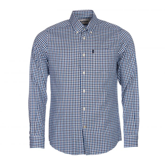 Barbour Stapleton Tailored Fit Oxford Gingham Shirt