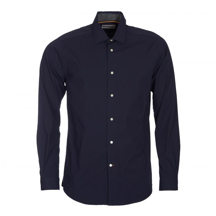 Barbour Highfield Stretch Tailored Fit Poplin Shirt