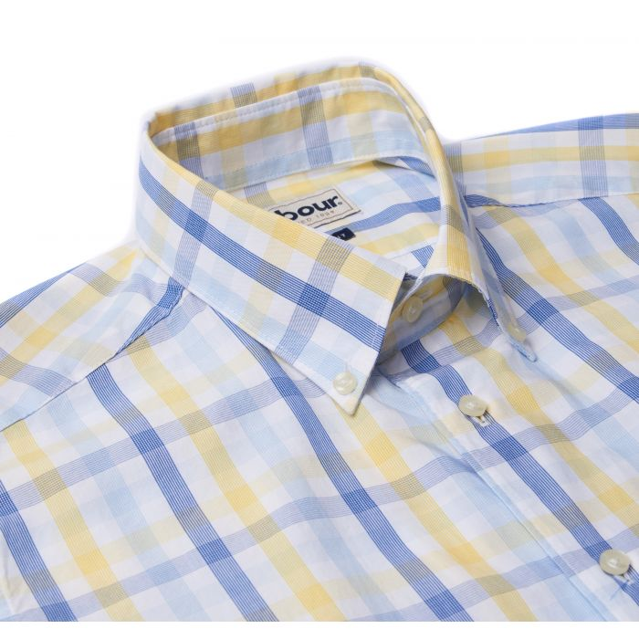 Barbour Tattersall 2 Short Sleeved Tailored Shirt