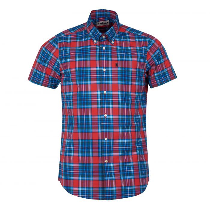 Barbour Highland Short Sleeved Tailored Shirt