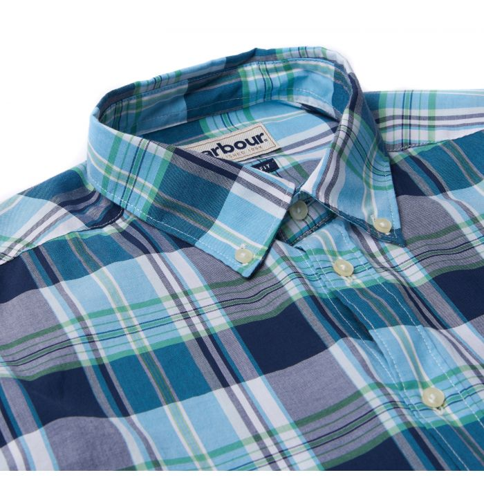 Barbour Madras 1 Tailored Fit Shirt