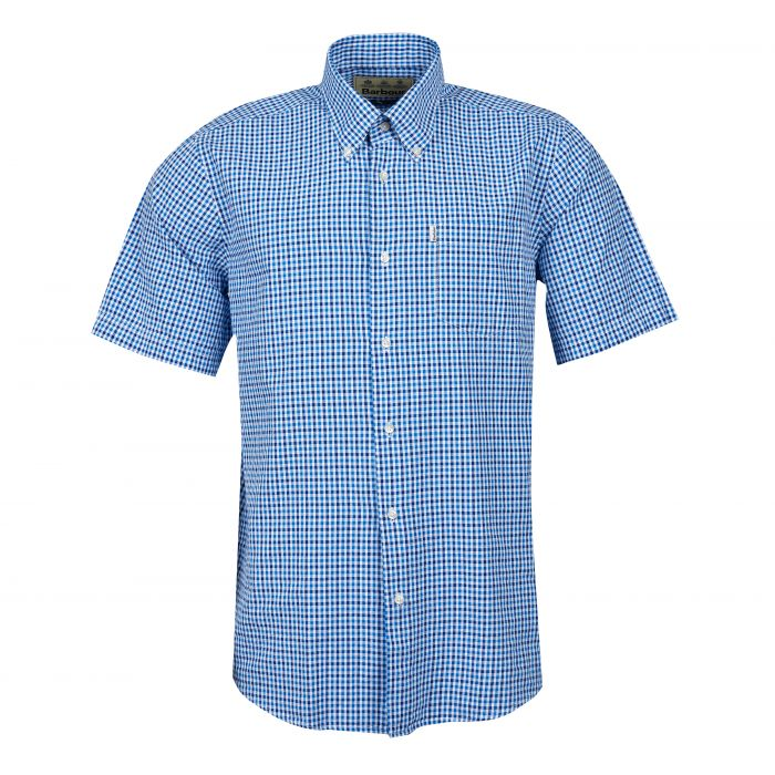Barbour Seersucker 1 Short Sleeve Regular Shirt