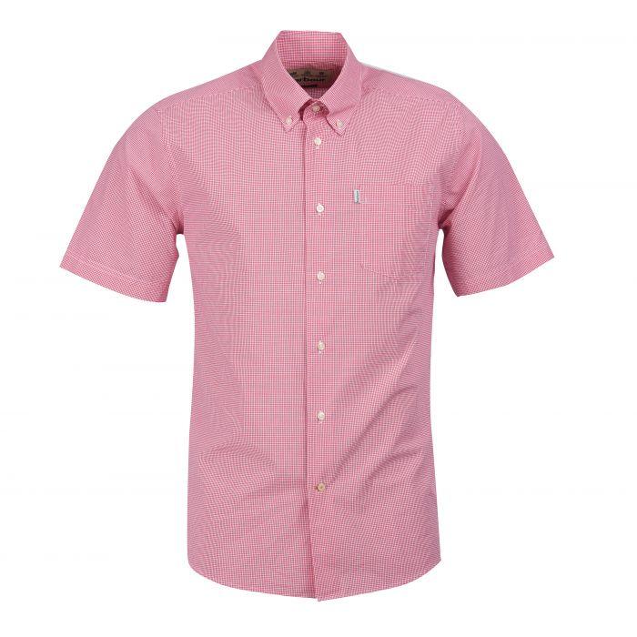 Barbour Gingham 6 Short Sleeved Regular Shirt