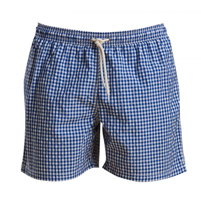Barbour Gingham Swim Shorts