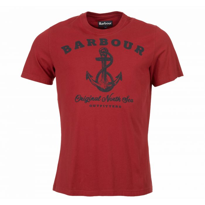 Barbour Anchor  Crew Neck T-Shirt