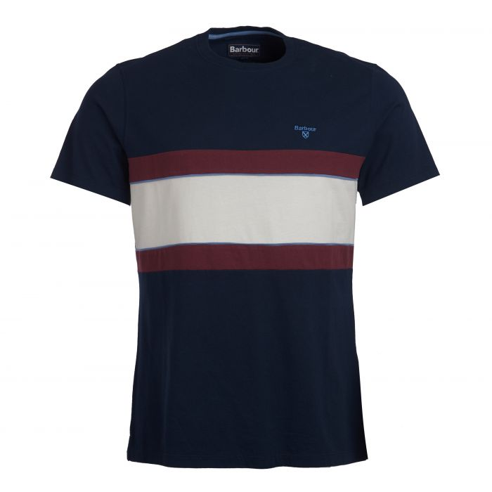 Barbour Bay Panel T-Shirt