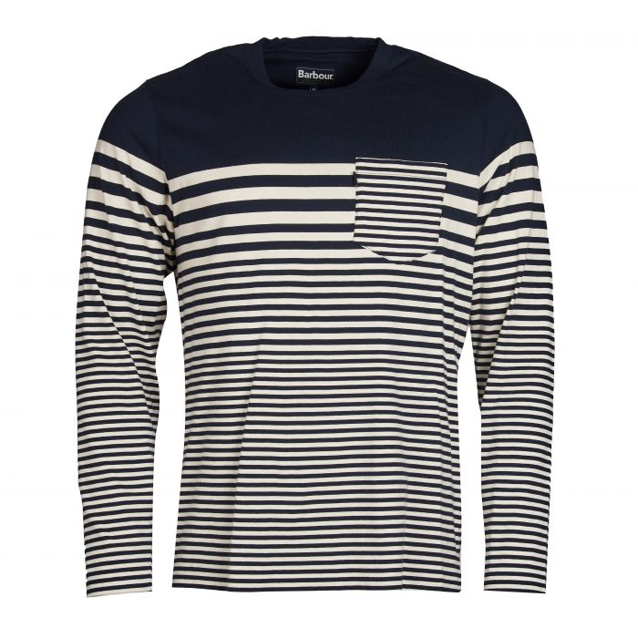 Barbour Triton Striped Long Sleeve Top