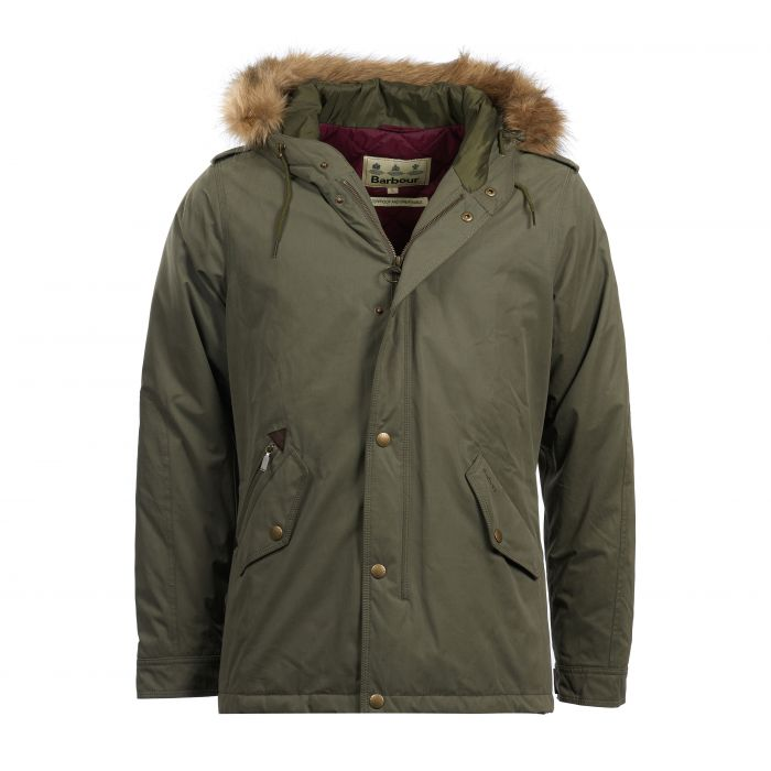 Barbour Yearling Waterproof Breathable Parka Jacket