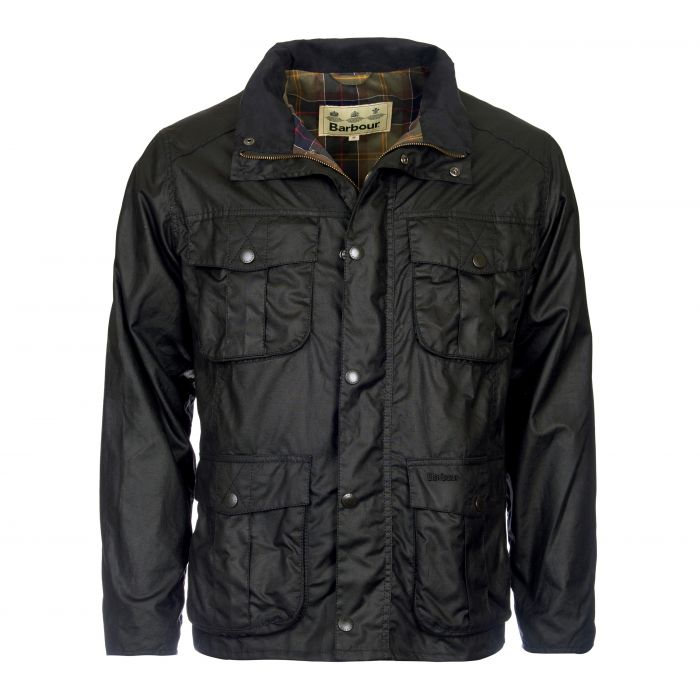 Barbour New Utility Waxed Cotton Jacket