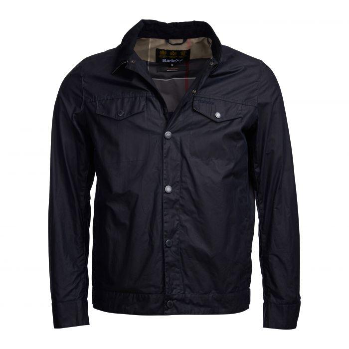 3c29e5e678c53 ... Barbour Sam Heughan Bogart Waxed Cotton Jacket