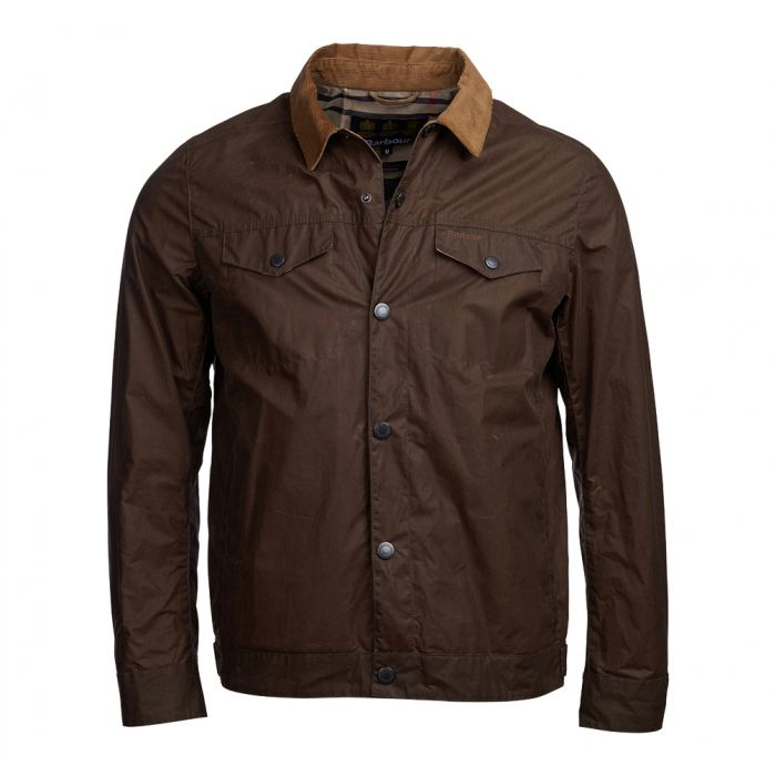 Barbour Sam Heughan Bogart Waxed Cotton Jacket