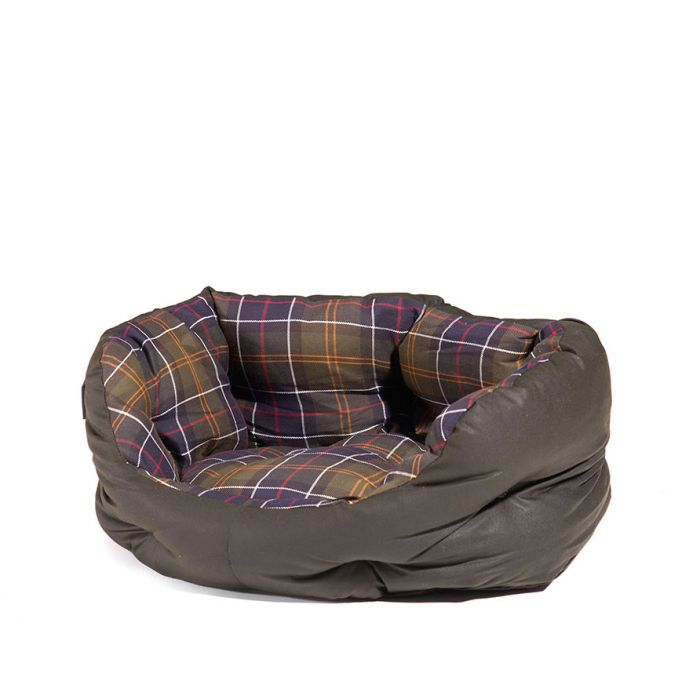Barbour Wax/Cotton Dog Bed 18In