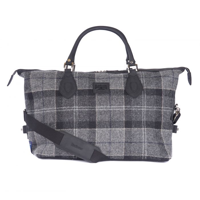 Barbour Shadow Tartan Explorer Holdall Bag