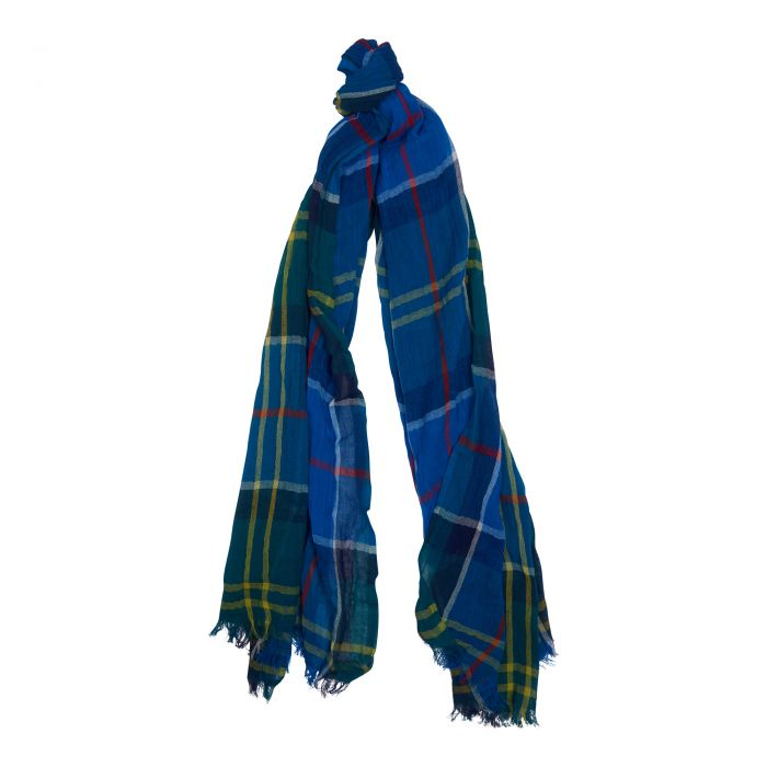 Barbour Bright Tartan Scarf