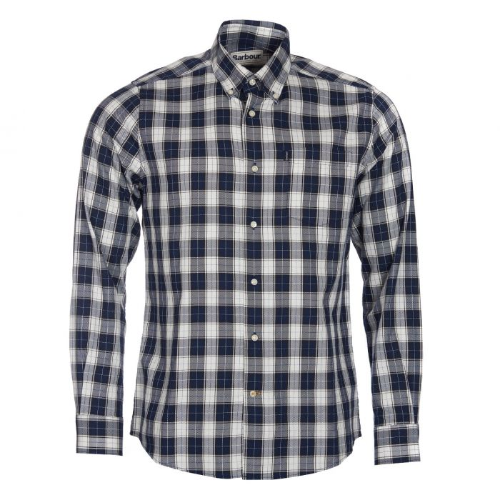 Barbour Stapleton Tailored Fit Oxford Check Shirt