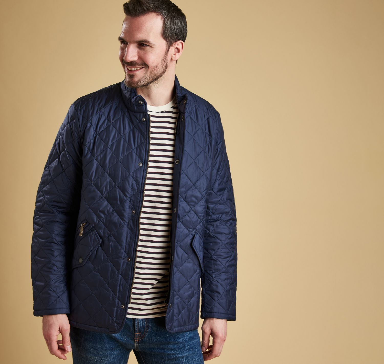 86a877f7de70a Barbour Flyweight Chelsea Quilted Jacket. Skip to the beginning of the  images gallery