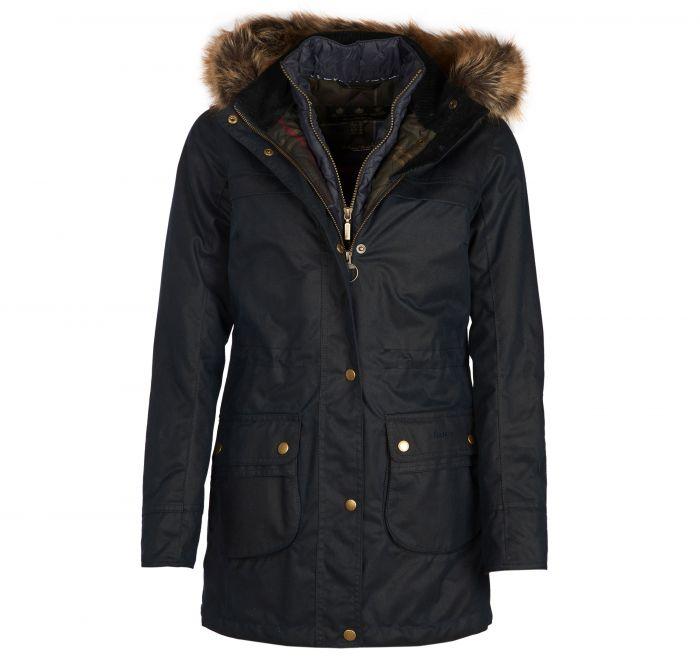 b1953808f Barbour Dartford Waxed Cotton Parka Jacket | Barbour