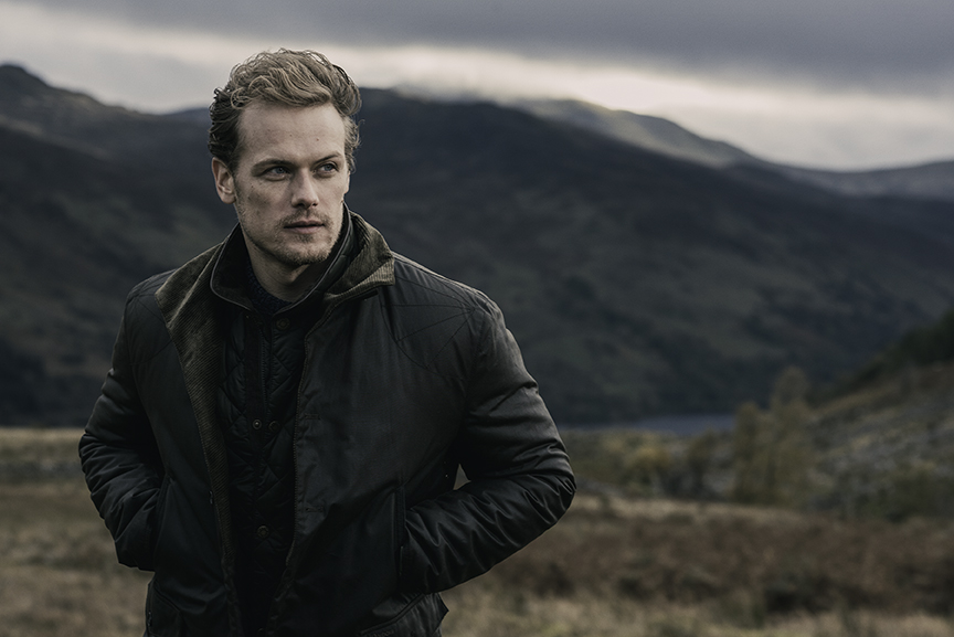 Sam Heughan Exclusive