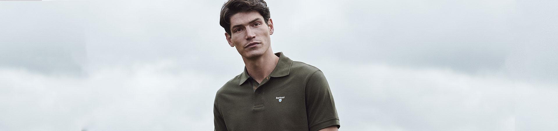 Barbour Men's Sports T-Shirt Blog Header
