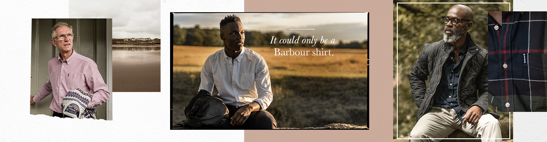 Ways to Wear the Barbour Shirt Department