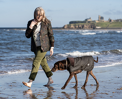 Background image for MEET THE DOGS OF BARBOUR: LUCY THE RESCUE DOG