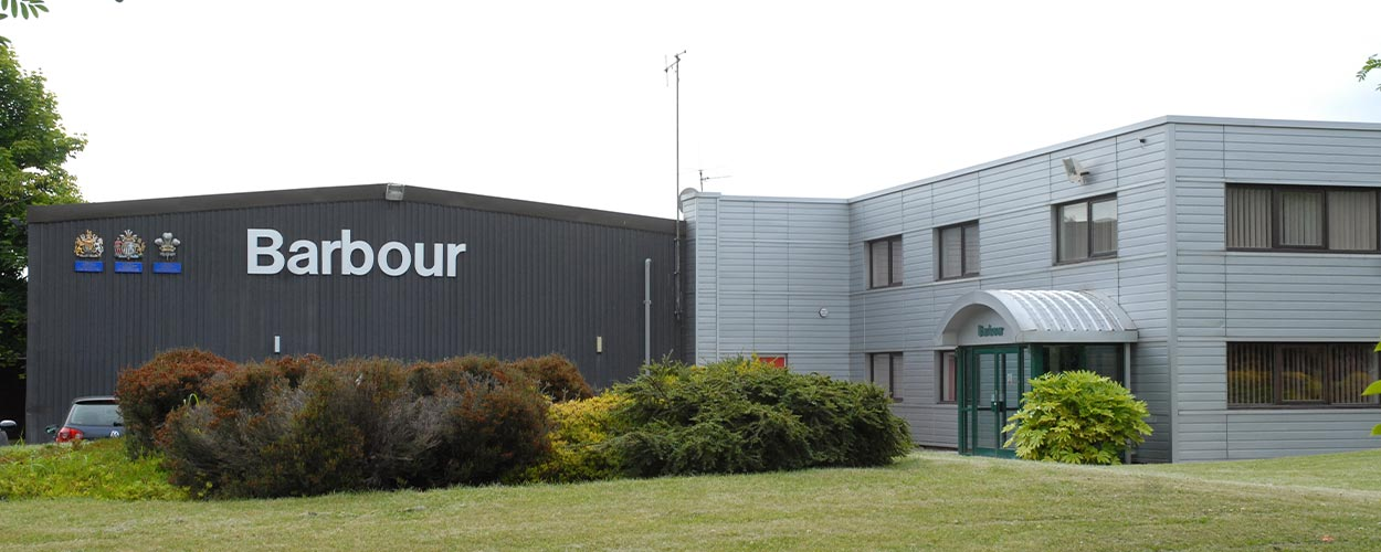 Barbour South Shields Factory