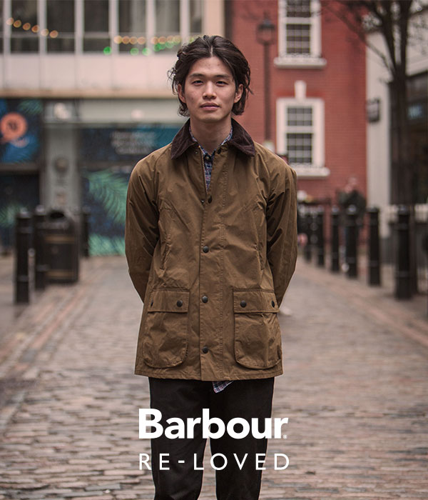 Background image for Barbour Reloved