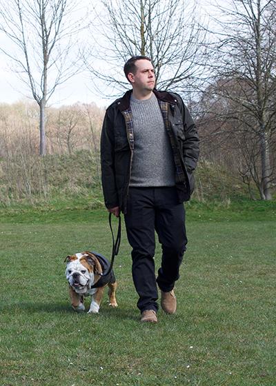 barbour dog coat