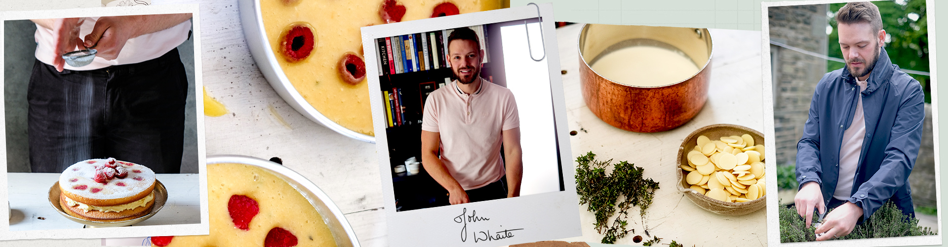 creative baking with John Whaite