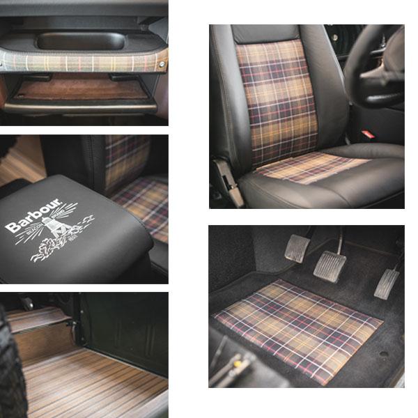 inside barbour car